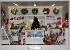 christmas dollhouses | Christmas Fantasy | Dollhouses & Miniatures