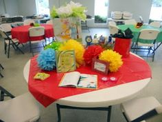 More Dr. Seuss baby shower stuff