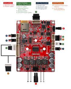 Dayton Audio KAB-230 2x30W Class D Audio Amplifier Board with Bluetooth 4.0