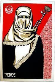 shepard fairey islamic women - Google Search