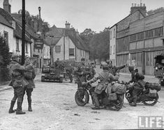 Getting read y for D Day Southern England 1944