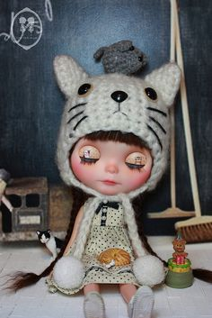 OOAK Blythe Custom Doll For Adoption-Cloe' | Flickr - Photo Sharing!