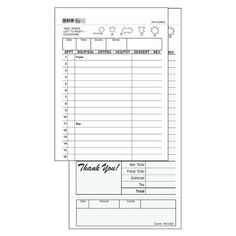 Patient SignIn Sheets Hipaa Compliant  X  Carbonless