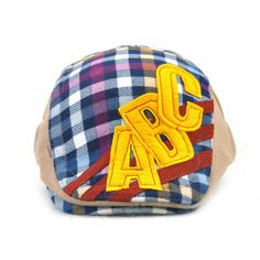 Good-quality Kids Boys Girls Cotton Grid Plaid Letter Cute Berets Hat Patch Flat Cap Casual Outdoor Visor Gorras is cheap, see more kids hats on NewChic. Flat Hats, Hat Patches, Kids Hats, How To Get Money, Girls, Boys, Boy Or Girl, Baseball Hats, Plaid