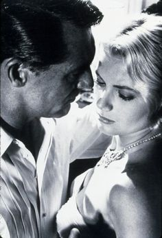 Grace Kelly Cary Grant in To Catch a Thief