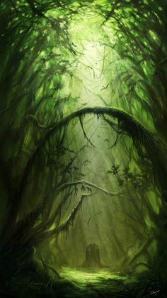 Inspiration for the corrupted forest? fantasy places, fantasy world, fantasy art, illustration Fantasy Places, Fantasy World, Fantasy Art, Fantasy Forest, Mystical Forest, Magic Forest, Dark Forest, Fantasy Landscape, Landscape Art