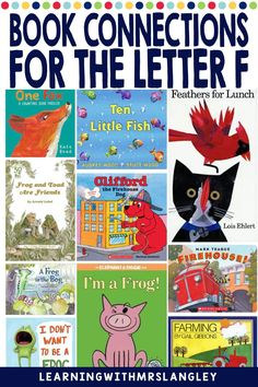 Do your pre-school or kindergarten students struggle when learning the LETTER F? Are you looking for proven activities that will actually help students master the alphabet? I can help! Immerse your students in a letter a day or week to quickly gain fluency in the alphabet. These lessons focus on recognizing the letter F and the initial sound and include detailed lesson plans, rhyming activities, math and science activities, art activities, and more! F Alphabet, Learning The Alphabet, Rhyming Activities, Science Activities, Initial Sounds, Letter To Parents, Teaching Letters, Letter F, Thriller Books