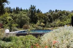 AD renovates a 240 sqm rural house in São Teotónio in southern Portugal, providing it with a new internal organization and a swimming pool that becomes part of the landscape. Rural House, Holiday Accommodation, Outdoor Furniture Sets, Outdoor Decor, Garden Pool, Photo Essay, Contemporary Architecture, Swimming Pools, Villa