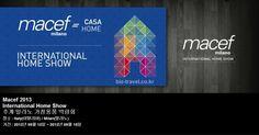 Macef 2013 International Home Show 추계 밀라노 가정용품 박람회
