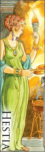 Saint Seiya - Rycerze Zodiaku - MITOLOGIA GRECKA - BOGOWIE - Hestia