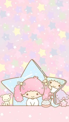 Little twin stars 双子星 壁纸~*