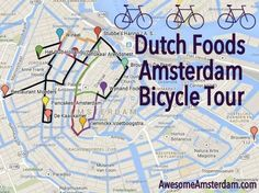 Dutch Foods Bicycle Tour of Amsterdam - DUTCH FOOD IN AMSTERDAM - Awesome Amsterdam awesomeamsterdam.com