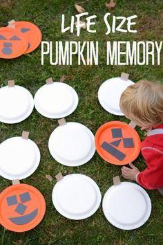 Pumpkin Tic Tac Toe? Count us in.