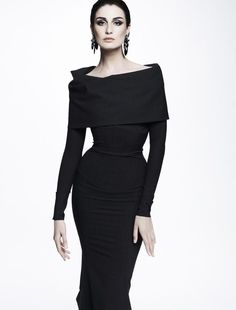 Erin O'connor - woman only gets hotter with years. Zac Posen Resort 2013 (Zac Posen)