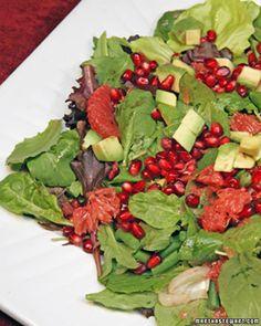 Avocado, Grapefruit, and Pomegranate Salad - Martha Stewart Recipes