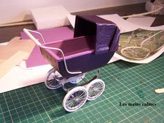 Pram Tutorial - love the wheels.