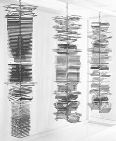 Columnas, 1974 artist Eusebio Sempere