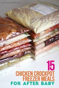 I made a bunch of freezer meals when I was pregnant and we loved all of the crockpot recipes from this site. So easy and healthy!