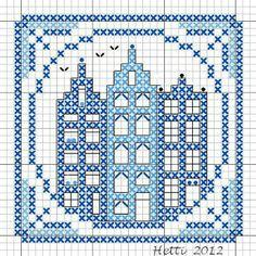 Creative Workshops from Hetti: SAL Delfts Blauwe Tegels, Deel 7 - SAL Delft Blue Tiles, Part 7.