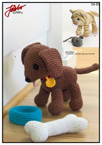 1500 Free Amigurumi Patterns: Dog Amigurumi in Swedish