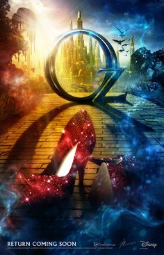 Oz!! Does this mean they got the slippers?? Oh I hope so! I can't wait for a return to Oz!!