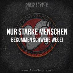 Pack' mir ruhig noch ein paar mehr Steine in den Weg - das macht mich NOCH stärker! - www.AesirSports.de | #Weg #Wege #Schwer #Stärke #Kraft #Zitat #Zitate #AesirSports #Motivation #Inspiration