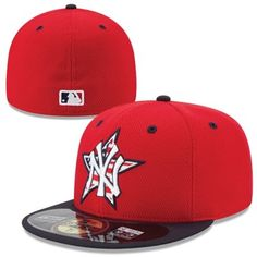 New York Yankees New Era Stars   Stripes 4th of July Diamond Era  Performance 59FIFTY Fitted Hat - Red Navy Blue f6a7fa192a840