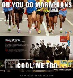 Funny memes – Oh, you do marathons
