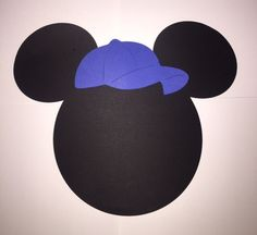 Mickey Mouse head placemat by JCBelleCreations on Etsy