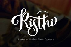 Looking for a Free Script Typeface with elegant style. Check out Risthi typeface! Risthi typeface is a beautiful hand-drawn typework from Rabittype copperplate calligraphy fonts, combines from copperplate to contemporary typeface with a dancing baseline, classic and elegant touch. The Free Script Typeface is great for wedding invitation, greeting cards, T-Shirt, Logo or any design that you ever think of. Risthi Script including Standart Glyphs, alternates, ligatures, Stylistic Alternates and…