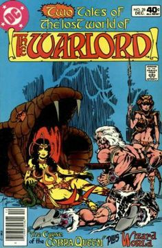 the warlord comics | The Warlord 1 (DC Comics) ComicBookRealm.com