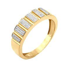 Jpearls Splendrous Diamond Finger Ring