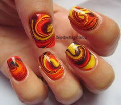 Captivating Claws: Weekly Water Marble 9/27/12