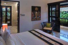 Bali Villa Photography - Residence Seminyak - master bedroom suite late afternoon lighting