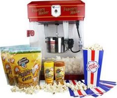 2.5oz Domestic Popcorn Maker Home Cinema Kit was £89.95 NOW £49.95 at Amazon CHEAPEST EVER PRICE - Gratisfaction UK