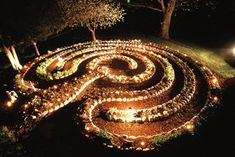 Dancing Lady Labyrinth, Private Residence (Photo by Jeff Saward)
