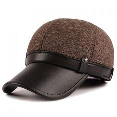 Stylish Stud Embellished PU Matching Baseball Cap For Men #jewelry, #women, #men, #hats, #watches, #belts