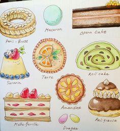 Instagram media mai.y.21 - ケーキ屋に引き続き、今日はケーキを(*´︶`*) 3時のおやつに間に合ったー #ロマンティックカントリー…