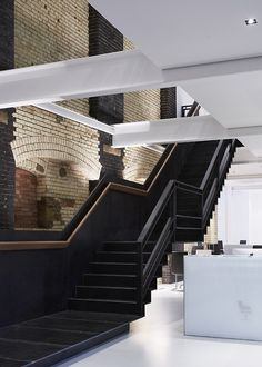black black staircase