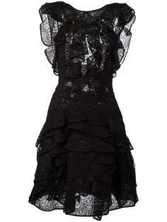 ERMANNO SCERVINO Ruffle Low Back Dress. #ermannoscervino #cloth #dress