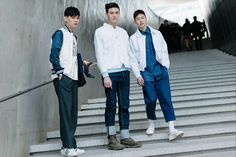Our Favorite Street-Style Pics From Seoul Fashion Week - Gallery - Style.com #indigos #focusonjeans® #FocusTextil