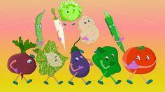 Lets Learn Fruits & Vegetables - Preschool Learning