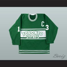 """Mats Sundin Toronto St Pats Hockey Jersey Any Size NEW. SHIPPING TIME IS ABOUT 3-5 weeksI HAVE ALL SIZES and can change Name and #(Width of your Chest)+(Width of your Back)+ 4 to 6 inches to account for space for a loose fit.Example: 18"""" wide chest plus 18"""" wide back plus 4"""" of space, would be a size 40"""".Please consider ordering a larger size, if you plan to wear protective sports equipment under the jersey.size chart chest:XS 30""""-32"""" Chest Measurement (76-81 cm)S 34""""-36"""" Chest Measurement…"""