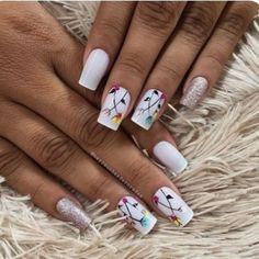 Encontre este Pin e muitos outros na pasta Nail Art Designs de Nail Designs. Gorgeous Nails, Love Nails, Fun Nails, Pretty Nails, Nail Time, Rose Gold Nails, Nagel Gel, Stylish Nails, Creative Nails