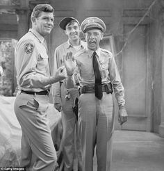 Andy Griffith Show Cast | , played Gomer Pyle on the Andy Griffith show (pictured with his cast ...