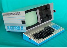 Kaypro CP/M 8-bit computer.