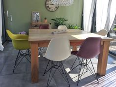 Aufgefrischtes Esszimmer nach Umgestaltung Eames, Modern, Dining Table, Chair, Furniture, Home Decor, Environment, Cozy Living, Cosy House