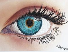 """28 Likes, 2 Comments - L.E. (@love_embroidering) on Instagram: """"Could it be more realistic? Astonishing needlework eye by Elza Bester #embroidery…"""""""