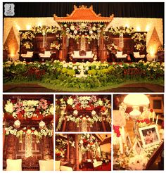 Javanese wedding decoration Decorator : K-jogja Venue : Balai Sudirman