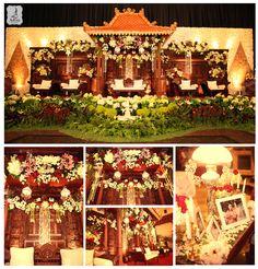 Javanese wedding decoration Decorator : K-jogja Venue : Balai Sudirman